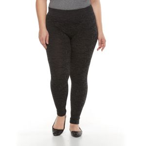 Plus Size French Laundry Jacquard Leggings